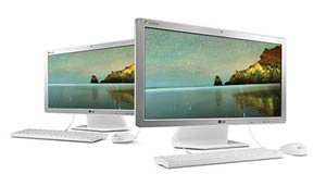 Lg Chromebase 22cv241 w 22 inch all one Cloud Desktop