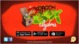 Dragonbox can help your kids learn math