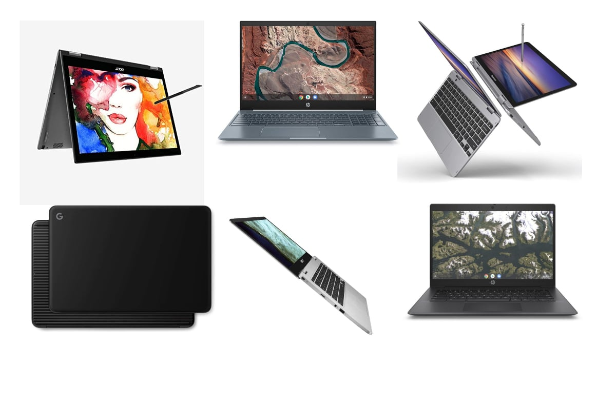 Topp 10 Chromebooks for2020