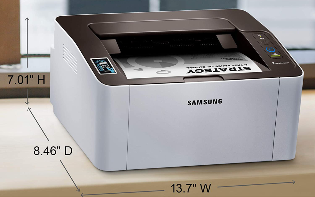 The SL-M2020W/XAA printer is a great choice from Samsung