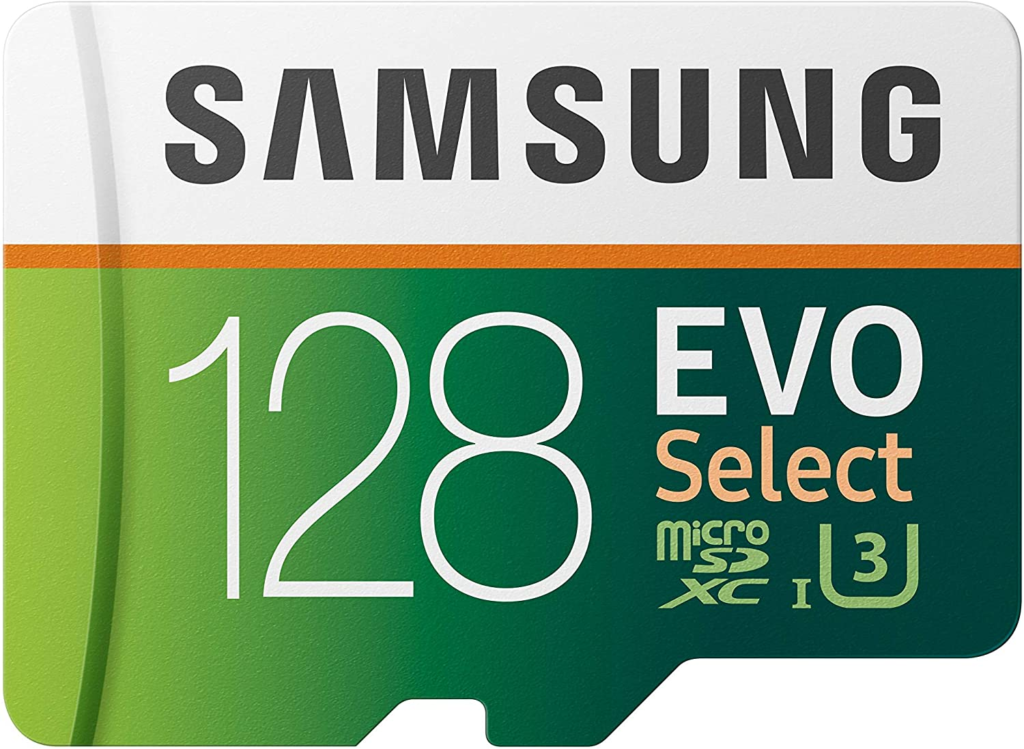 The Samsung Evo Select is a fast microSD card for your Chromebook